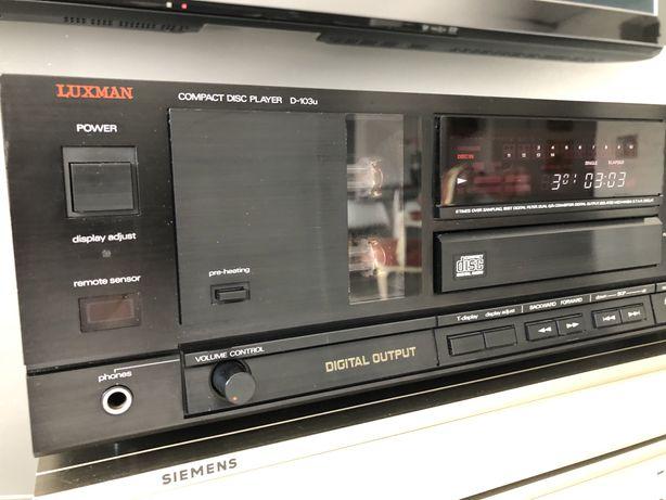 Luxman D-103U lampizator Odtwarzacz CD