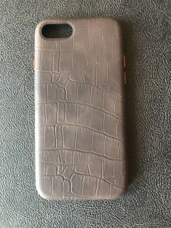 Чехол Leather Crocodile case для iPhone SE2