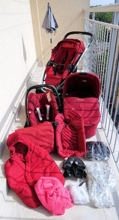 Wózek 3w1 MAXI COSI MURA 4 PLUS + fotelik PEBBLE PLUS + gratisy !!! Sosnowiec - image 1