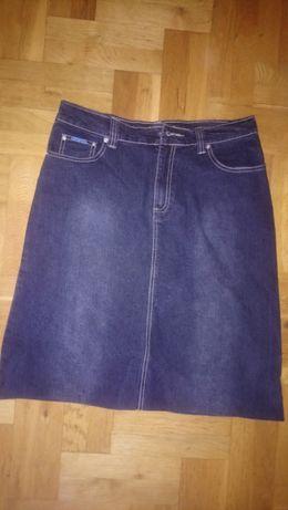 Jeansowa spódnica rozmiar 44-46