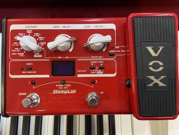 Multiefekt , procesor gitarowy basowy VOX StompLab 2B Krys...