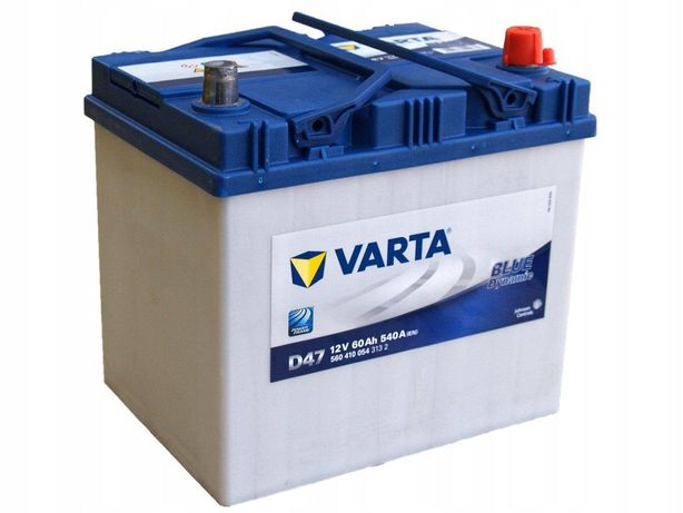 Akumulator Varta Blue Dynamic D47 60Ah/540A
