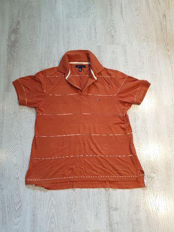 Koszulka polo TOMMY HILFIGER M - bardziej L -Sosnowiec