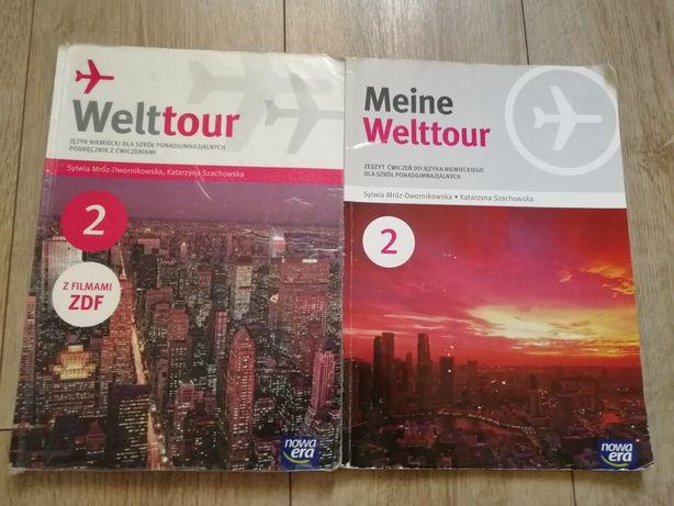 Sprzedam Welttour 2 książkę i ćwiczeniówke