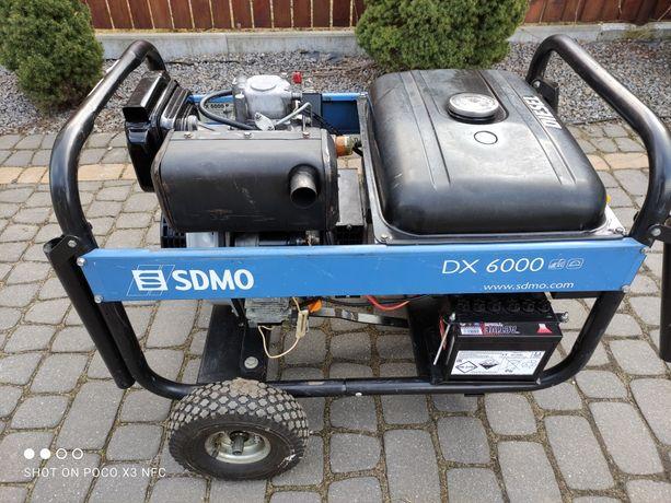 Agregat prądotwórczy SDMO dx 6000 e diesel.