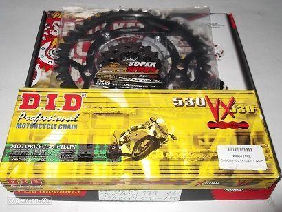 Kit Transmissao Corrente DID VX X-Ring Honda CBF 1000 F de 2006 a 2010