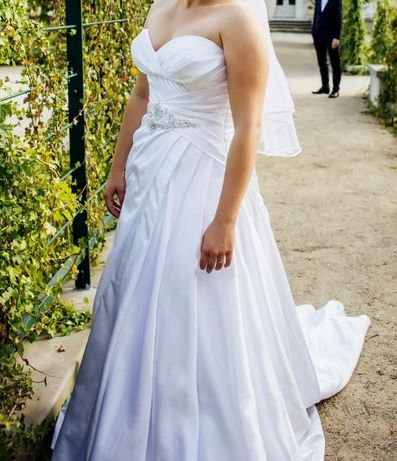 Suknia ślubna Ronald Joyce 64019 + gratisy!
