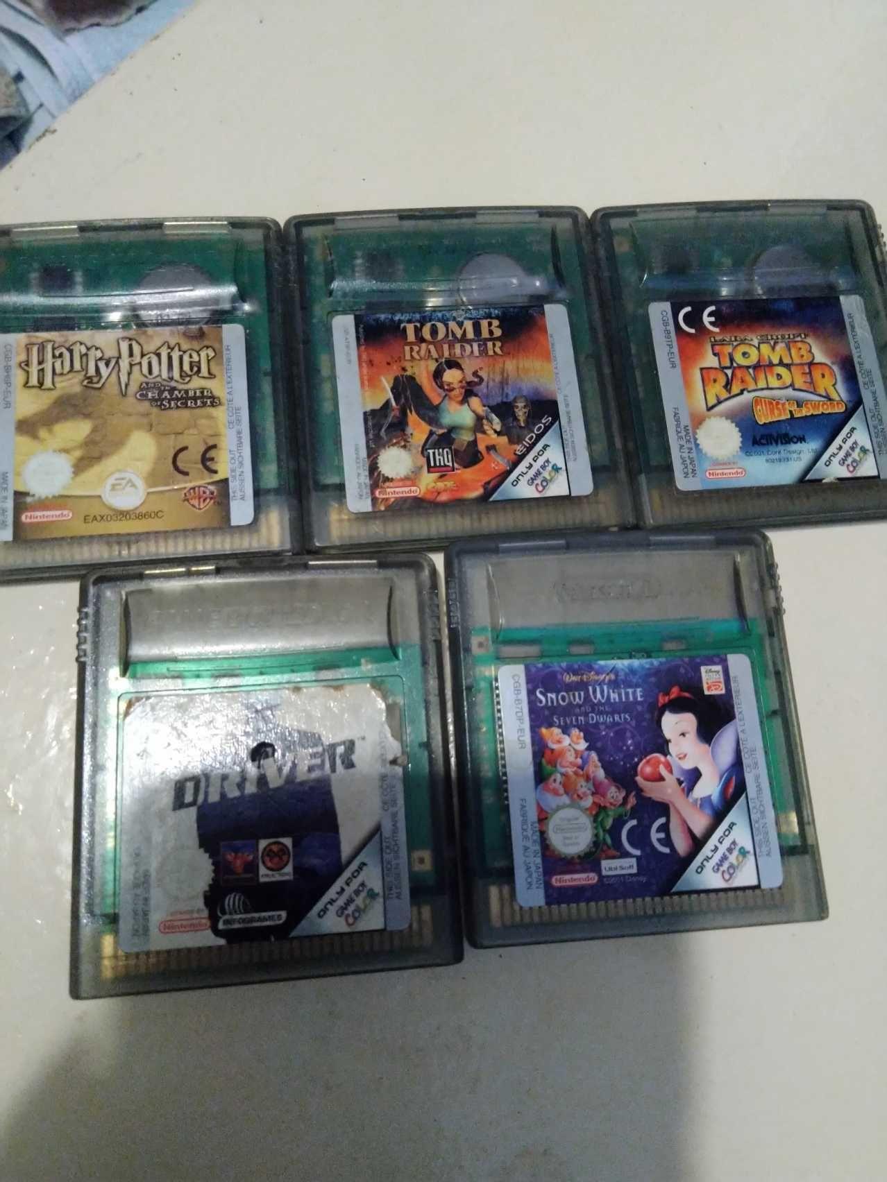 Jogos para GameBoy e GameBoy Color