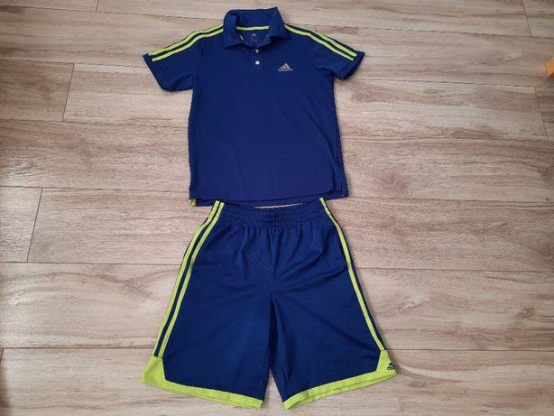 Koszulka spodenki Adidas, wzr. ok. 140-150 cm, ok. 13-14 lat