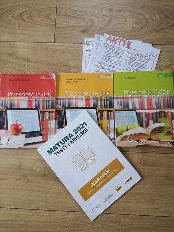 Książki język polski podręczniki +gratisy Przeszłość to dziś