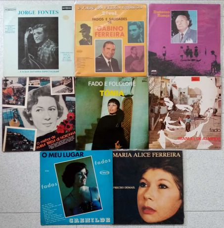 16 Discos Vinil LP - Música Portuguesa
