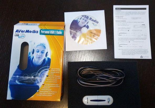 Placa de Rádio FM Usb Avermedia