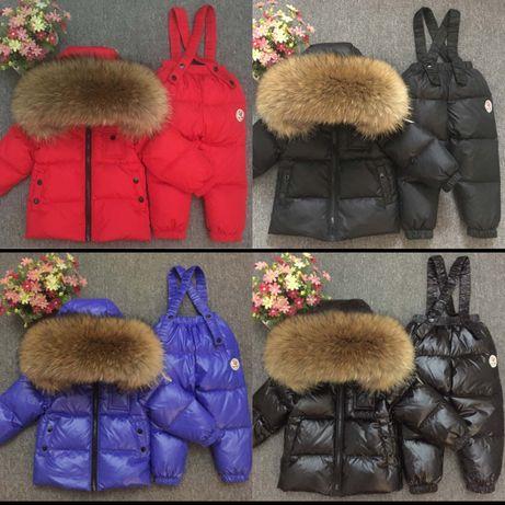Зимний комбез комбинезон куртка пуховик фирма moncler lb Монклер