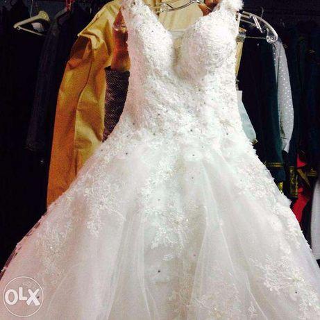 Vendo vestido de noiva Micaela Oliveira em bom estado 36 Novo Preço
