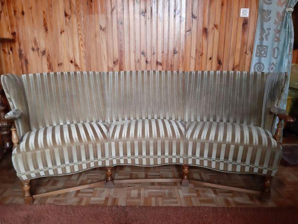 Komplet wypoczynkowy kanapa + 3 fotele