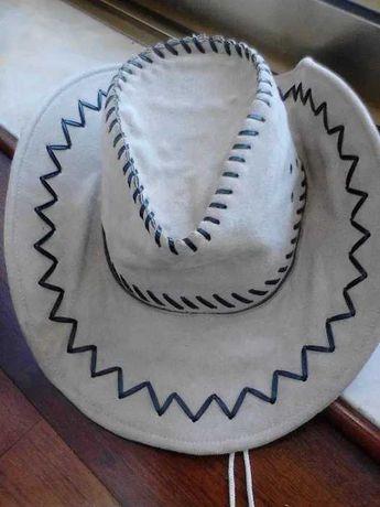 Chapéu novo em pele, nunca usado