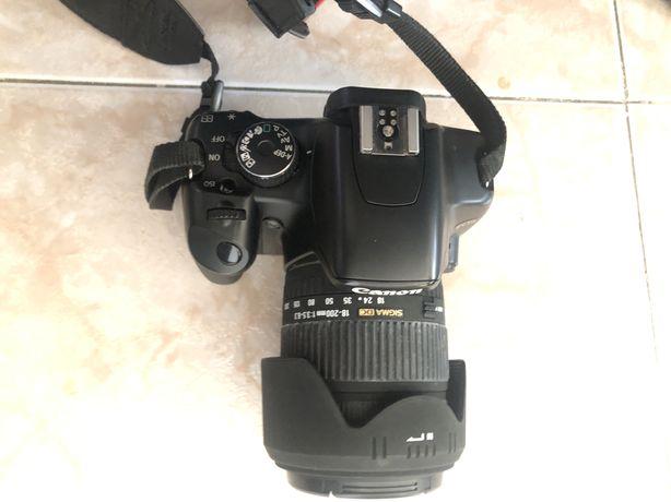 Maquina Fotografica 450D Lente 18-200