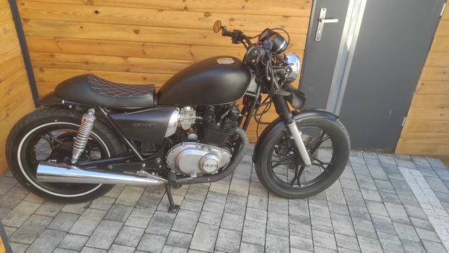 Suzuki GL450 /Czarny mat/Zarejestrowany/Bez wkładu/Jedyny taki! Okazja