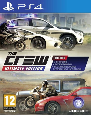 Gra The Crew ultimate edition ps4