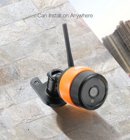 Camera Vigilância Wireless Prova Agua Visao Noturna 720P 64GB Exetior
