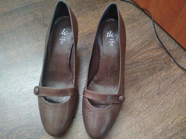 Туфли кожаные 36р.