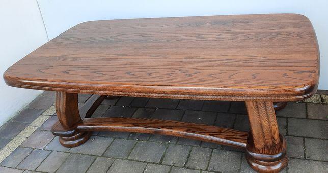 Ława dębowa, masywna, drewniana,  stolik, drewniana,  drewno dębowe ,