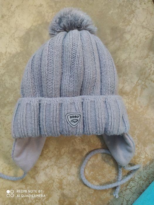 Зимняя шапка agbo (50-54)  в идеале Софиевская Борщаговка - изображение 1