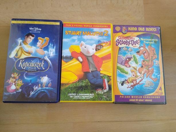 Bajki bajeczki w dla dzieci VHS - cena za całość