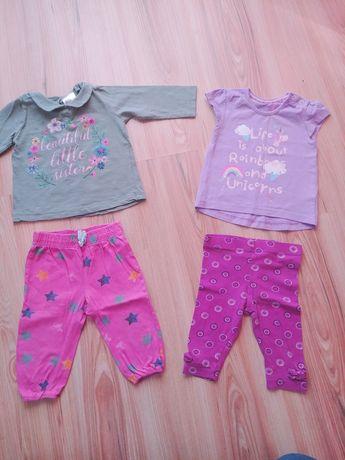 Śliczne ubranka dla dziewczynki 3-6 m