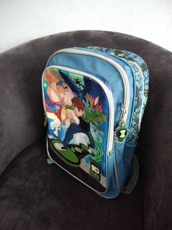 Plecak szkolny duży pakowany Ben10