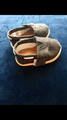 Niechodki tomsy Toms buty niemowlak T4 rozmiar 20