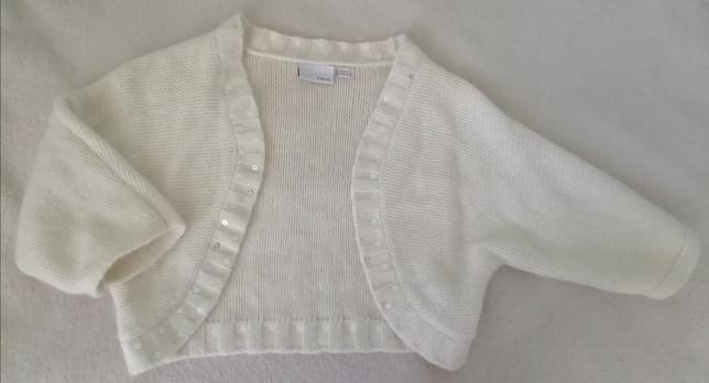 Next bolerko narzutka sweter 152 12 lat XS klasyczne