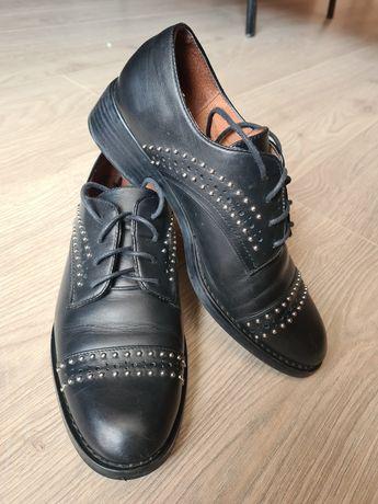 Туфли унисекс (натуральная кожа )