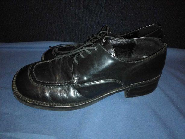 Ботинки туфли кожаные 38 39 для мальчиков в школу школьные Табу