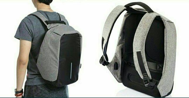 Городской рюкзак антивор под ноутбук Бобби Bobby с USB / с защитой