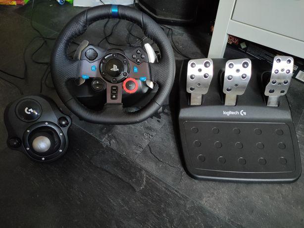 Kierownica Logitech g29 ps4 PS3 PC komputer skrzynia biegów shifter