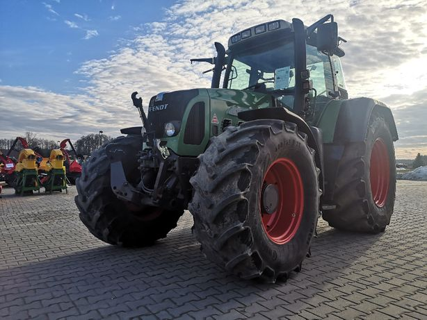 traktor ciągnik FENDT TMS VARIO 818