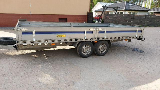 Przyczepa ciężarowa skrzyniowa 2019 Polski producent