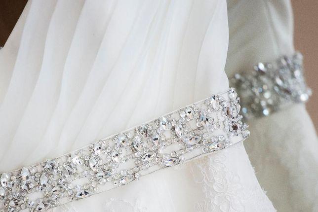 Koronkowa suknia ślubna rozmiar 34 36 38