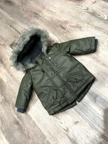 Kurtka zimowa dla chłopca 62-68 cm