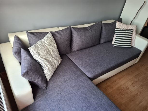 Narożnik łóżko sofa rogówka