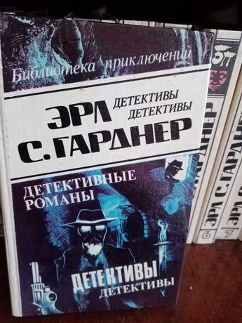 Продам 10 томов детективных романов.
