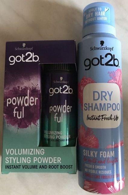 Schwarzkopf got2b powder ful puder stylizujący do włosów suchy szampon