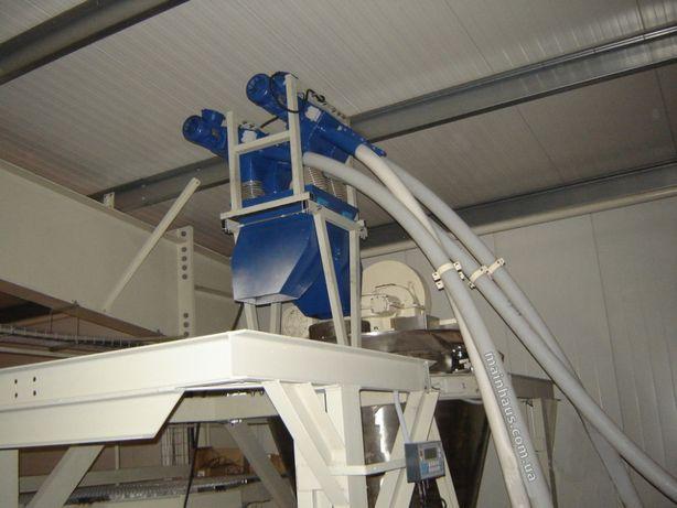 погрузчик зерна гибкий шнек спиральный транспортер для пеллеты novicor