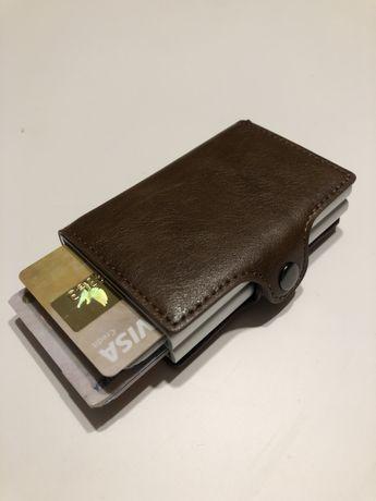 Carteira porta cartões anti roubo (rfid)