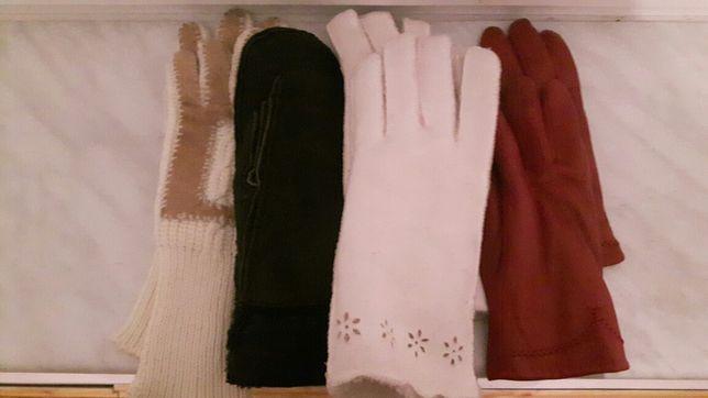 Rękawice damskie/męskie 4 pary