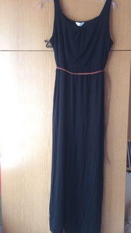 Maxi czarna sukienka