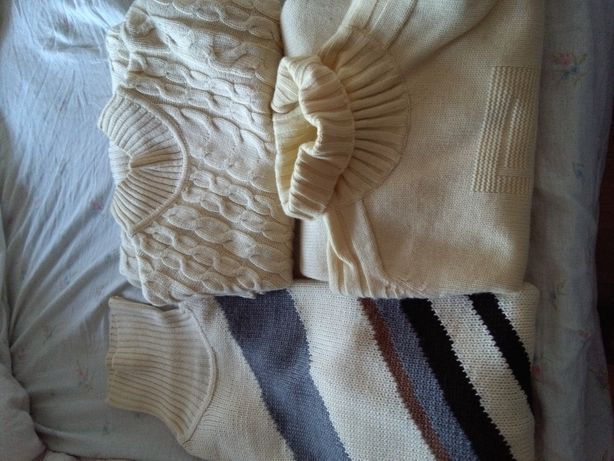 Diversas Camisolas pura Lã