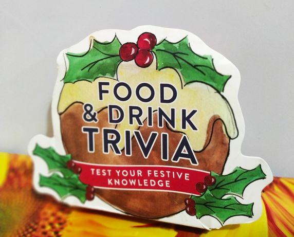 Карточки на английском Food and Drink Trivia