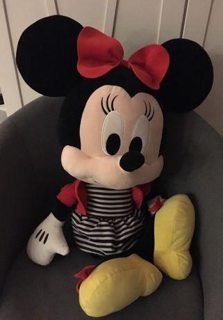 Maskotka duża Myszka Minnie Miki jak nowa plus mała z metką